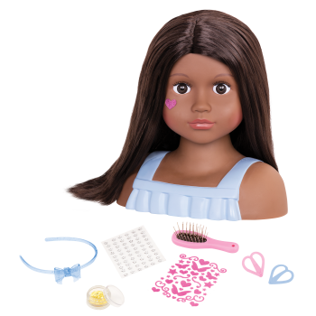 Nessa Doll Hair Styling Head