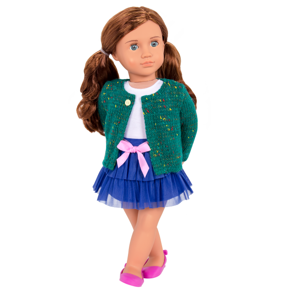 Bright and Brisk Fashion Outfit with Lexie Doll