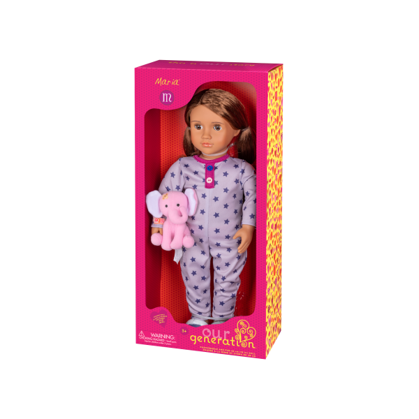 18-inch Sleepover Doll Maria Packaging
