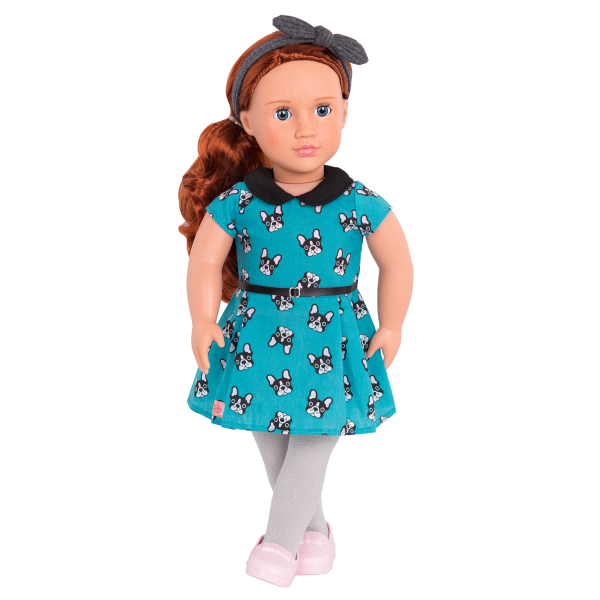 Puppy Love Fashion Outfit Clothes Accessories for 18-inch Dolls