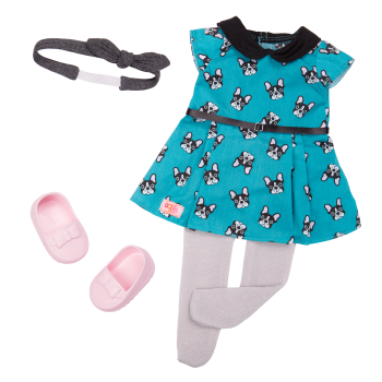Puppy Love Fashion Outfit for 18-inch Dolls