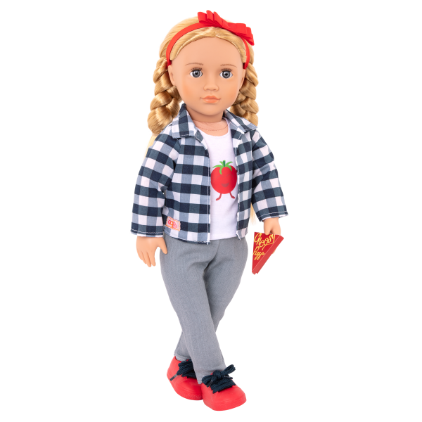 Head-To-Ma-Toes Outfit with Accessories for 18-inch Dolls