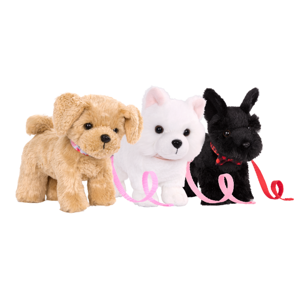 6-inch Posable Scottish Terrier Pup Loyal Pals Pets Collection for 18-inch Dolls