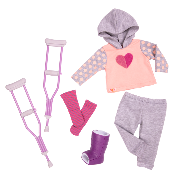 Martha Deluxe 18-inch Hospital Doll Doctor Outfit Clothes Medical Play