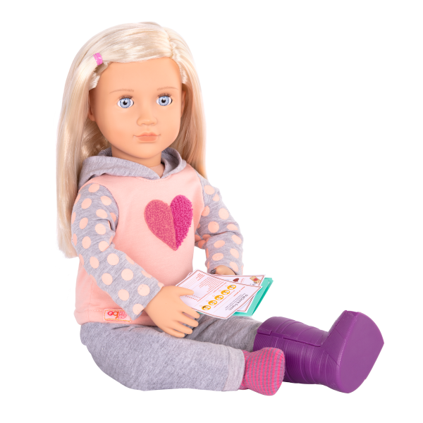 Martha Deluxe 18-inch Hospital Doll Pink Outfit Clothes