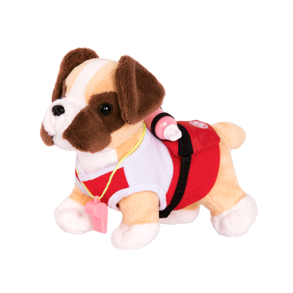 Loveable Lifeguard Beach Outfit for 6-inch Plush Dogs 18-inch Dolls Accessories