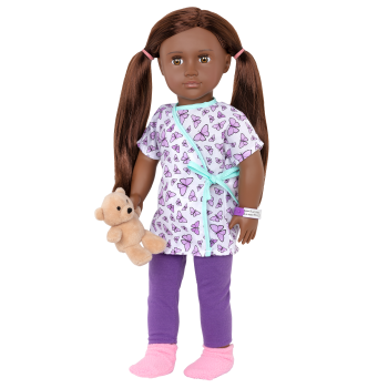 18-inch Hospital Doll Karissa