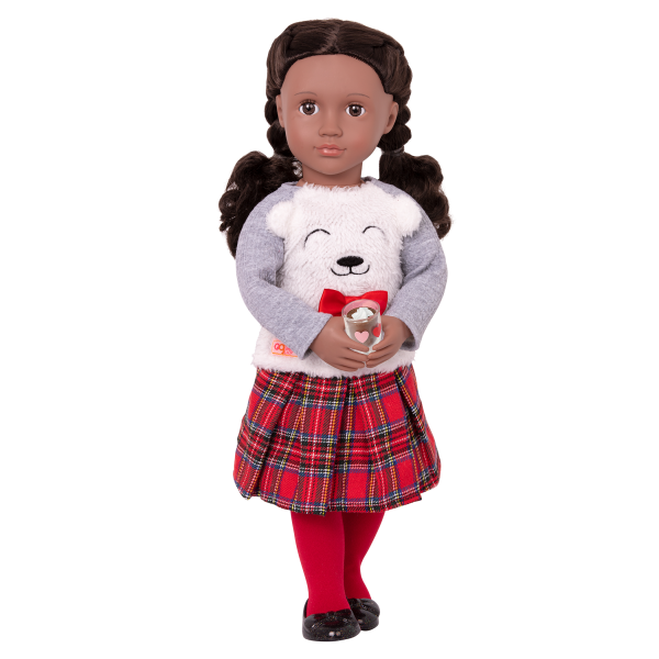 Bear-y Sweet Fashion Outfit Clothes Accessories for 18-inch Dolls
