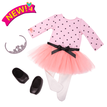 On Point Ballet Outfit for 18-inch Dolls