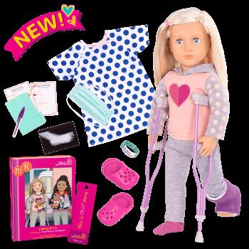 Martha Deluxe 18-inch Hospital Doll