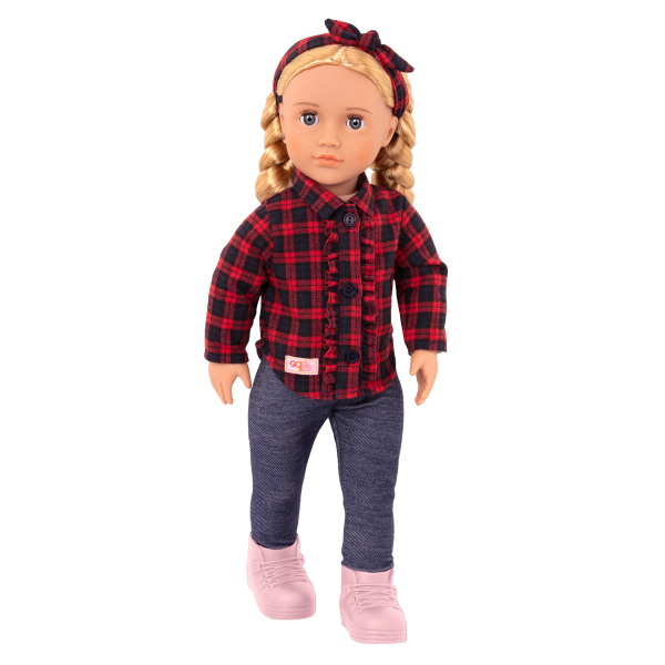Our Generation 18-inch Doll Spencer Blonde Hair Blue Eyes