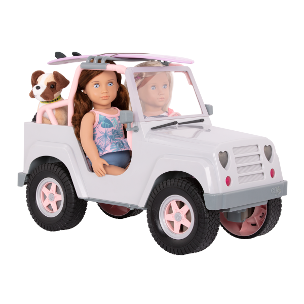 Our Generation Off Roader 4x4 Vehicle for 18-inch Dolls with Surfboard