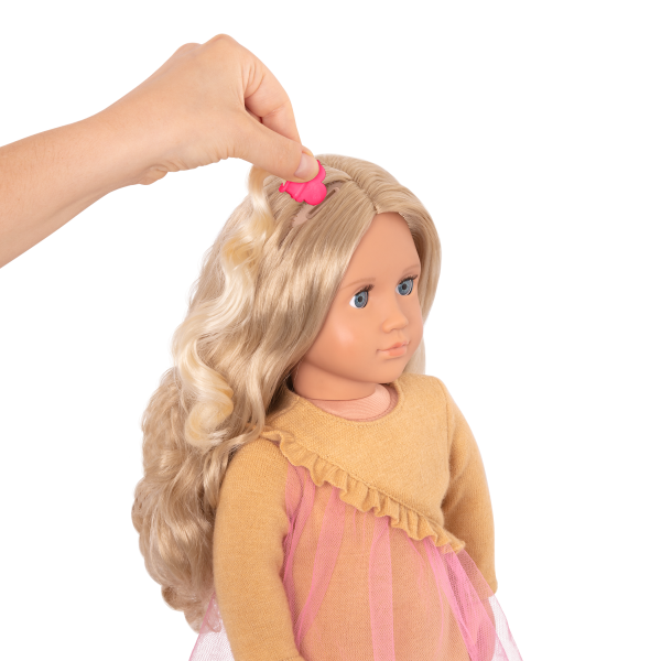 18-inch Hair Play Doll Bianca Clip In Extensions