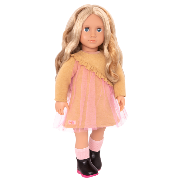 18-inch Hair Play Doll Bianca Blonde