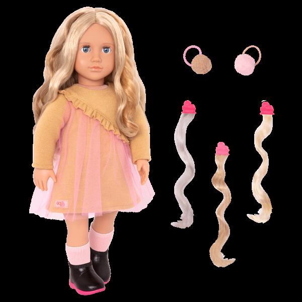 18-inch Hair Play Doll Bianca