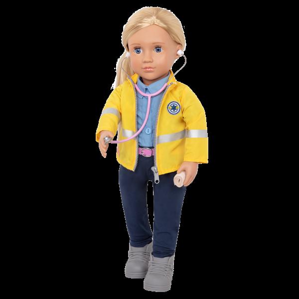 18-inch Paramedic Doll Kaylin Medical Play Hospital