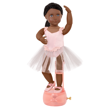 18-inch Deluxe Ballet Doll Shayla with Music Box