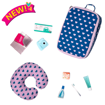18-inch Doll Off We Go Travel & Luggage Set