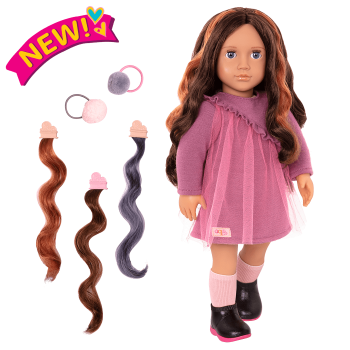 18-inch Hair Play Doll Bridget