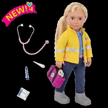 18-inch Paramedic Doll Kaylin