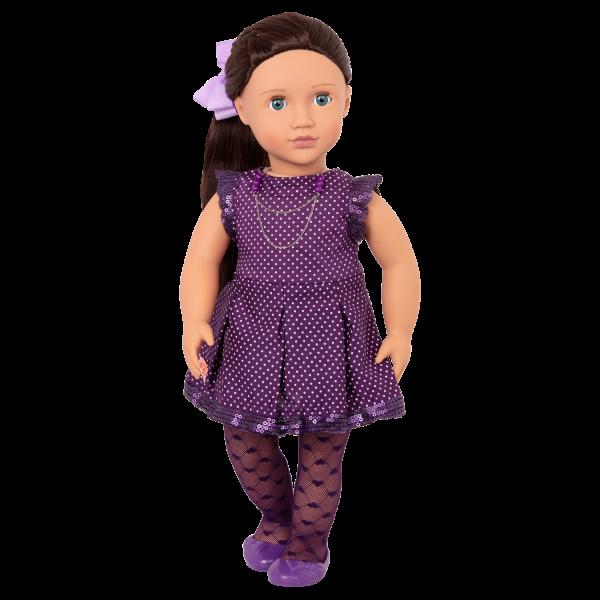 Willow wearing dress