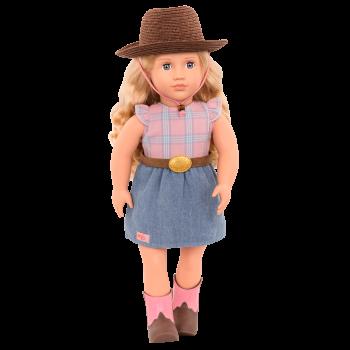 Lea Rose 18-inch Western Doll