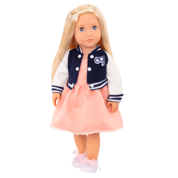 Terry Retro 18-inch Doll with Varsity Jacket