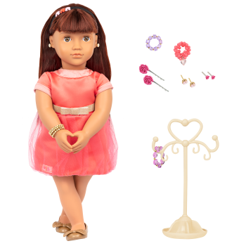 Adelita 18-inch Jewelry Doll with Earrings