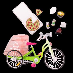 OG Delivery Bike for 18-inch Dolls