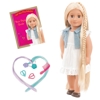 18-inch Doll Phoebe & Berry Nice Salon Day Set Bundle