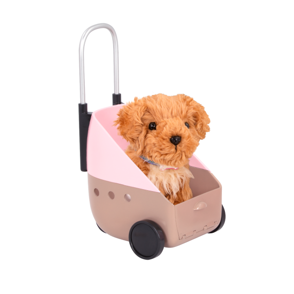 18-inch Doll Malia & Passenger Pets Travel Set Carrier