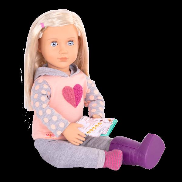 18-inch Posable Doll Martha