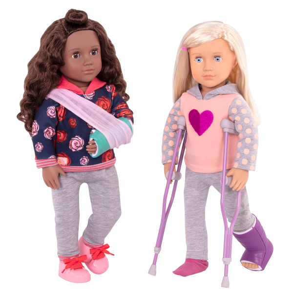 Keisha Posable 18-inch Doll & Martha