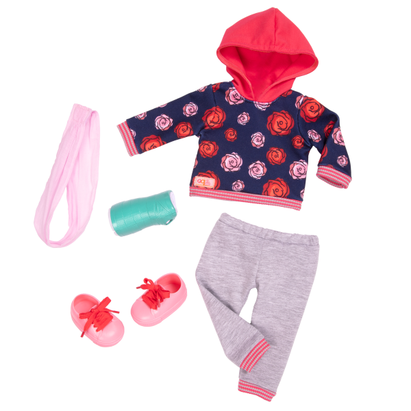 Keisha Posable 18-inch Doll Clothes Set