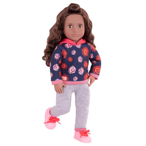 Keisha Posable 18-inch Doll Outfit
