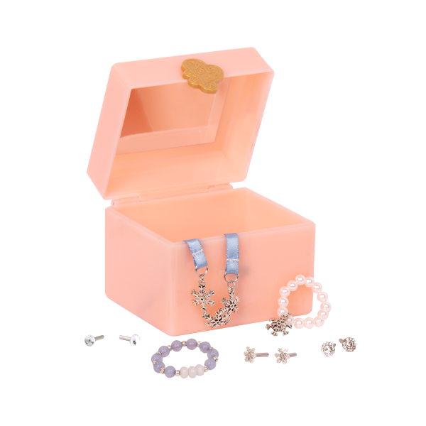 Julissa 18-inch Doll Jewelry Box Accessory