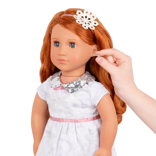Julissa 18-inch Doll with Pierced Ears