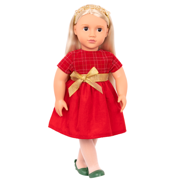 Bria 18-inch Holiday Doll