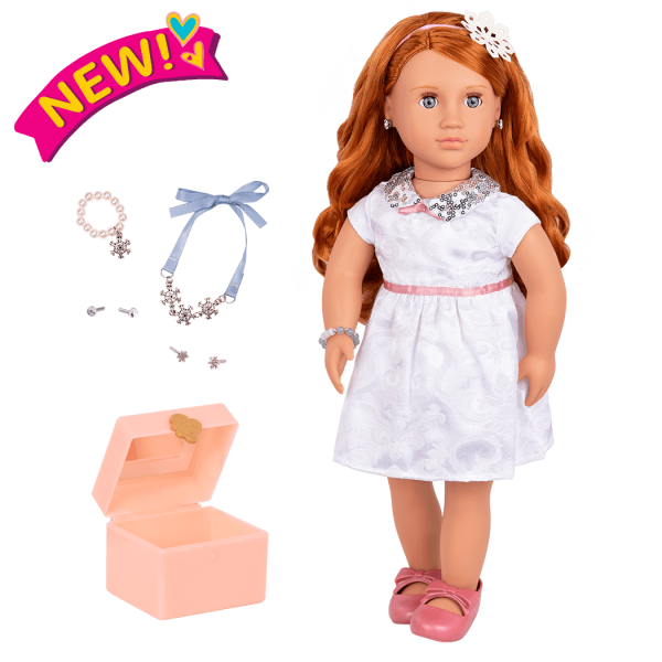Julissa 18-inch Doll with Jewelry Box