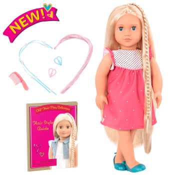 18-inch Hair Play Doll Hayley