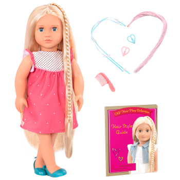 18-inch Hair Play Doll Hayley
