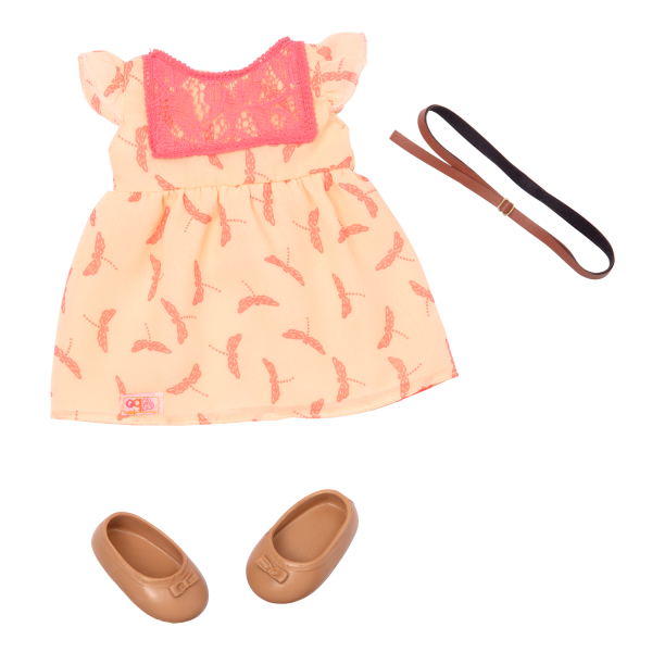 BD31073 Portia Hairplay Doll Outfit