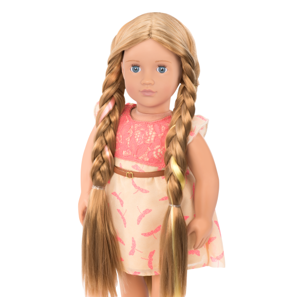 BD31073 Portia Hairplay Doll standing up