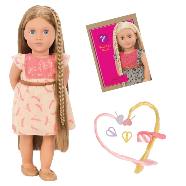 BD31073 Portia Hairplay Doll all components