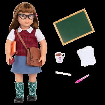 18-inch School Teacher Doll Taylor
