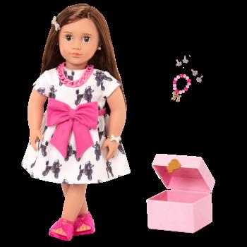 18-inch Jewelry Doll Nancy