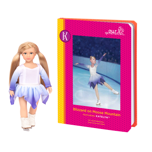 Read and Play Set 6-inch Mini Doll Katelyn