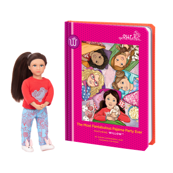 Read and Play Set 6-inch Mini Doll Willow