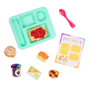 Lunch Time Fun Time School Set for 18-inch Dolls