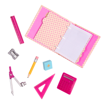 Talent and Mathematics School Supplies for 18-inch Dolls